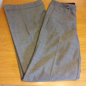 GAP gray women's wide leg trouser size 4 long